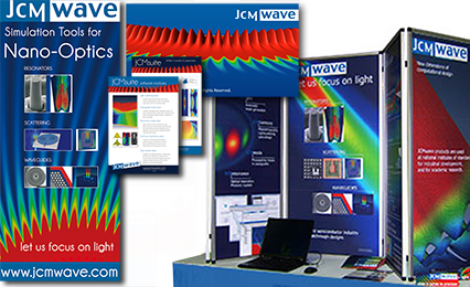 Corporate Design Stojanov: JCMwave GmbH