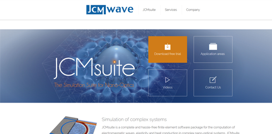 JCMwave GmbH - Finite Element Technology