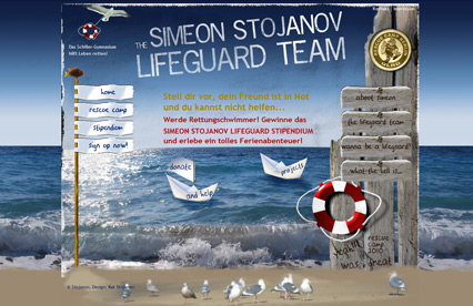 Simeon Stojanov Lifeguard Project